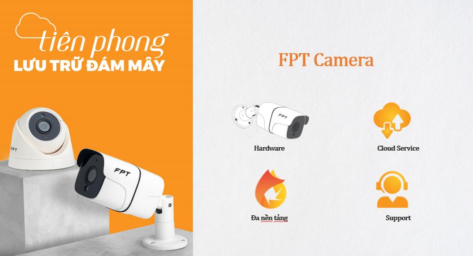 FPT Camera tiên phong đưa công nghệ lưu trữ đám mây (Cloud Camera) vào camera an ninh