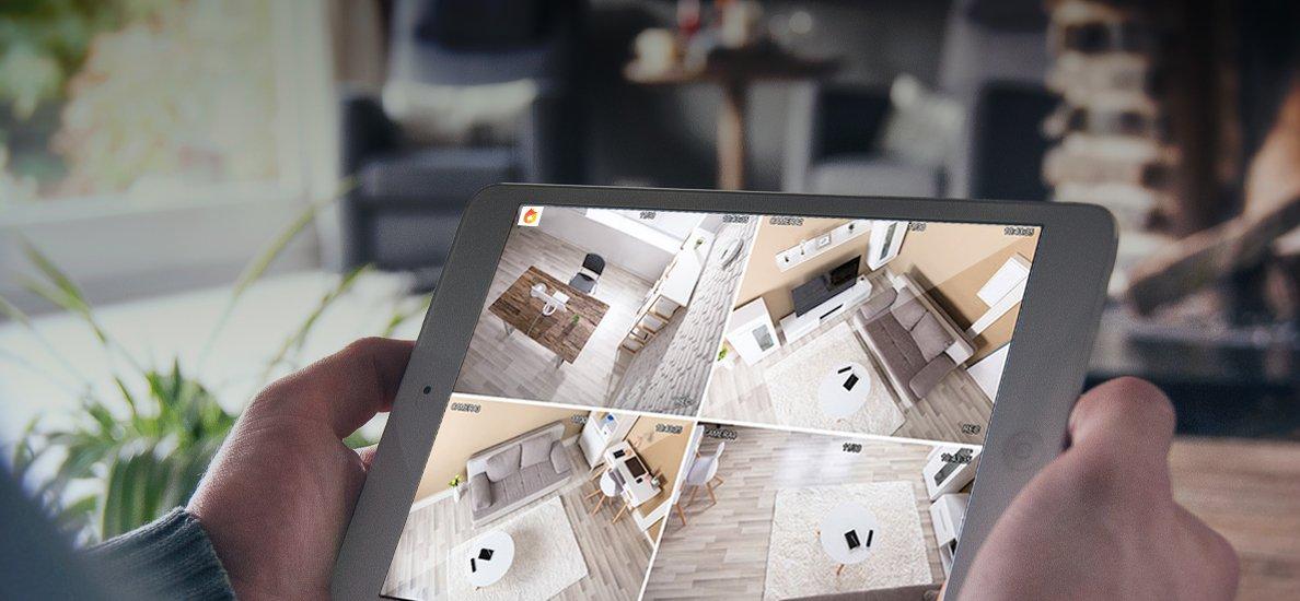 CAmera FPT trong nhà hỗ trợ xem hình ảnh chất lượng Full HD 1080P rõ nét