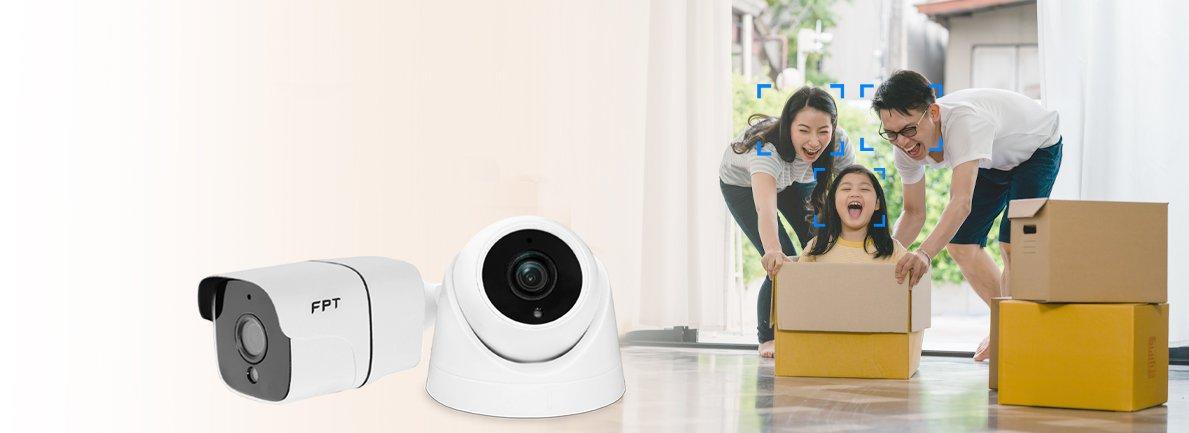 Camera FPT Indoor hỗ trợ phát hiện chyển động thông minh