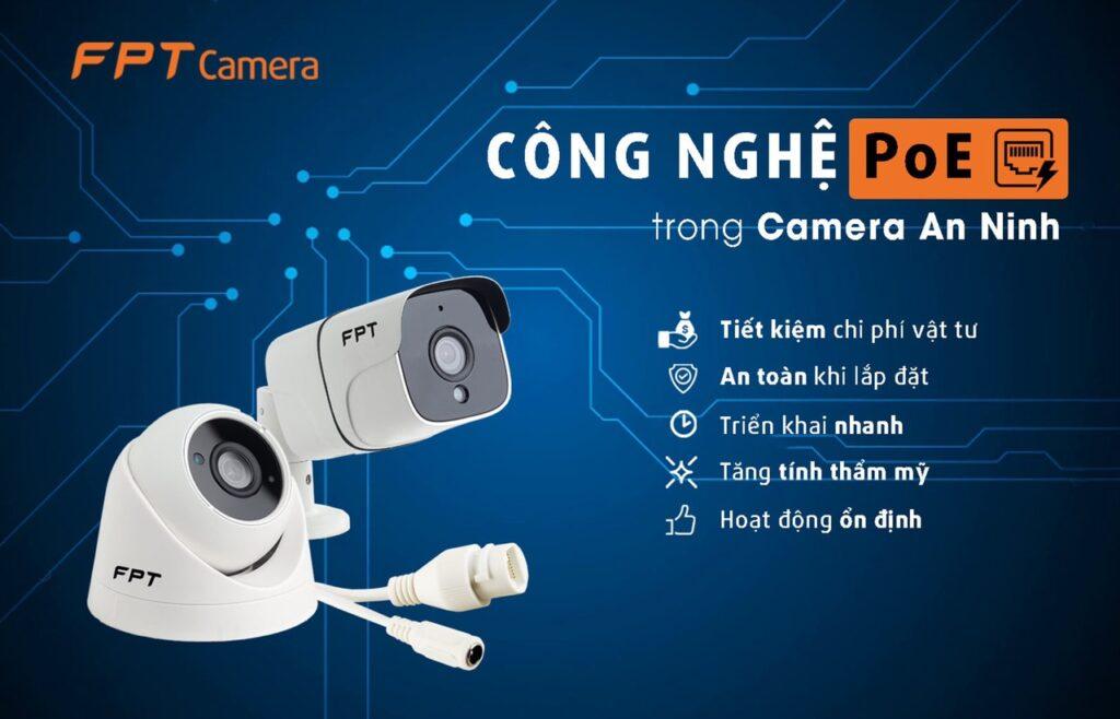 ứng dụng công nghệ POE trong camera quan sát