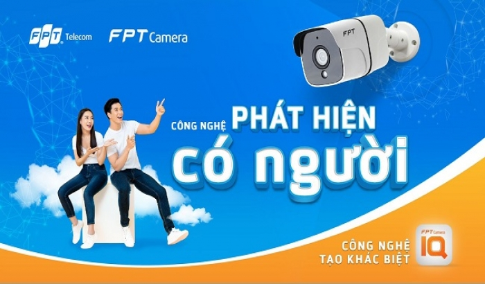 FPT Camera IQ với tính năng nhận diện thông minh, sử dụng công nghệ Trí Tuệ Nhân Tạo (AI)