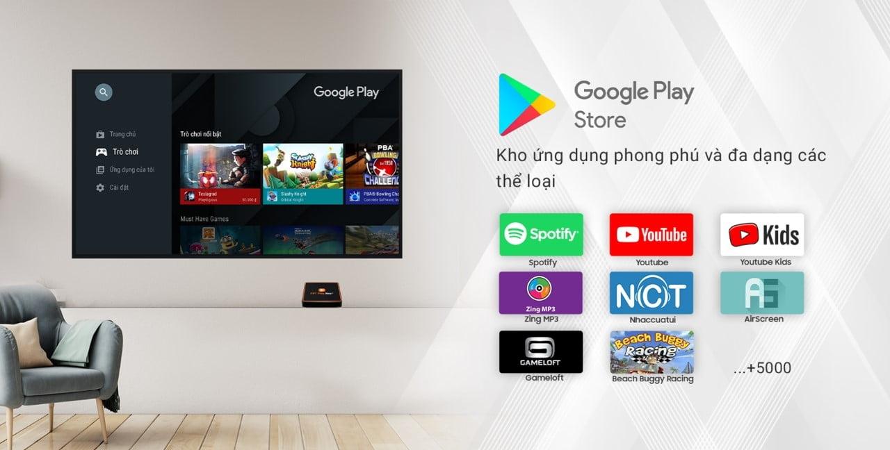 FPT Play BOX 2020 có kho ứng dụng phong phú cho cả nhà