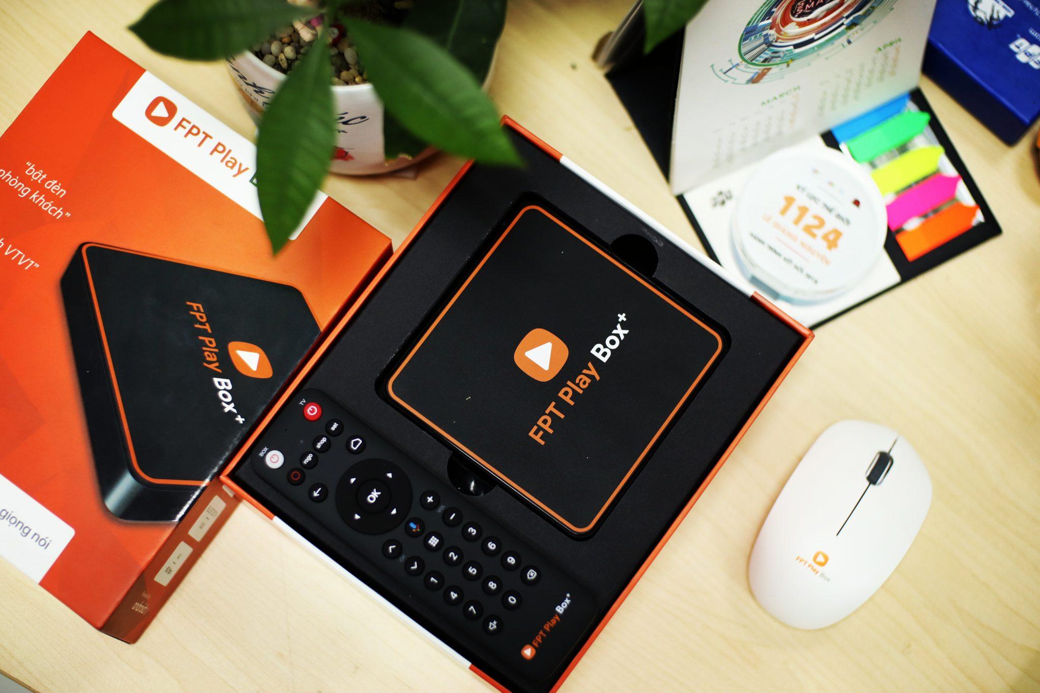 FPT Play BOX+ 2020 được thiết kế gọn nhẹ