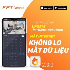 tính năng anr mới trên app camera fpt 2.3.0